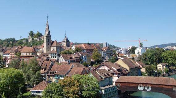 Switzerland-Baden-oldcityview